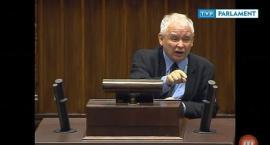 Kaczyńskiemu puściły nerwy i wreszcie pokazał swoją prawdziwą twarz. BURDA W SEJMIE