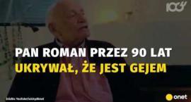 Po 90 latach wyznał, że jest gejem. Ma żonę, dzieci, wnuki, ale dalej szuka miłości