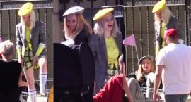 Margaret kręci nowy klip na ulicy. Zobacz, jak wygląda praca za kulisami teledysku
