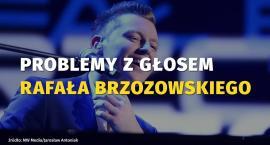 Rafał Brzozowski nie będzie mógł śpiewać? Piosenkarz ma poważne problemy z gardłem