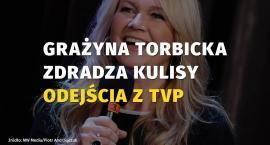 Grażyna Torbicka zdradziła kulisy odejścia z TVP. Sprawdź, co się stało!