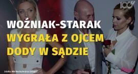 Agnieszka Woźniak-Starak wygrała z ojcem Dody. Ile będzie musiał jej zapłacić?