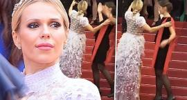 Doda w Cannes ośmieszyła się na czerwonym dywanie? Zobacz, co się stało!