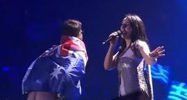 Skandal na Eurowizji! Widzowie zobaczyli... nagie pośladki jednego z widzów