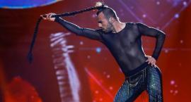 Najdziwniejszy uczestnik Eurowizji - człowiek z lassem na głowie
