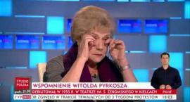 Teresa Lipowska nie mogła powstrzymać łez