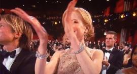 Nicole Kidman klaskała na Oscarach w przedziwny sposób