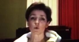 Joanna Mucha śpiewa w Sejmie: