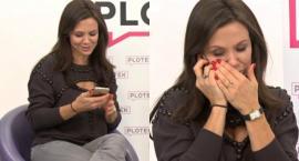 Córka Kingi Rusin zadzwoniła do mamy podczas wywiadu na żywo