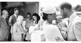 Tak wyglądał chrzest księcia Archiego - syna Meghan i Harryego