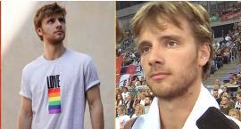 Maciej Musiał o koszulkach z przesłaniem: Staram się być autentyczny wobec siebie