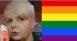 Karolina Korwin-Piotrowska opluta i znieważona. Powód: tęczowa torba