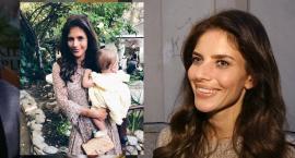 Weronika Rosati nie opuszcza córki: Jest ze mną na planie cały czas