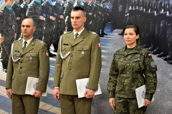 Wojsko, Pożegnanie Ośrodkiem Radioelektronicznym - zdjęcie, fotografia