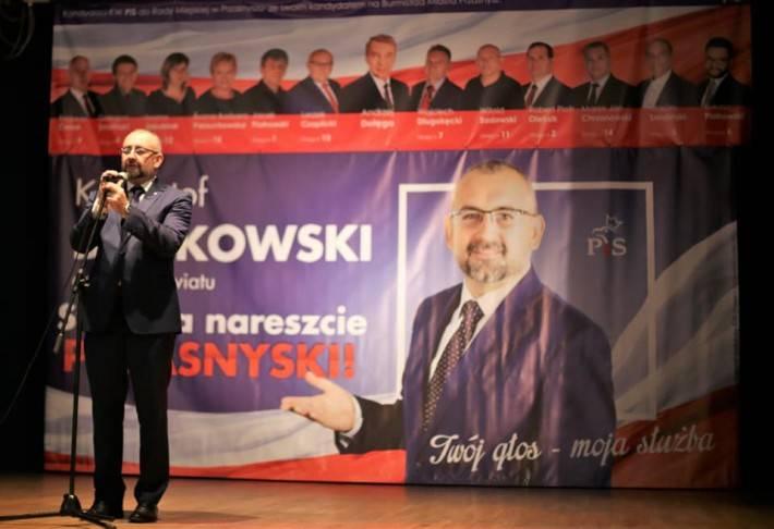 Wybory , Konwencja wyborcza Prawa Sprawiedliwości - zdjęcie, fotografia