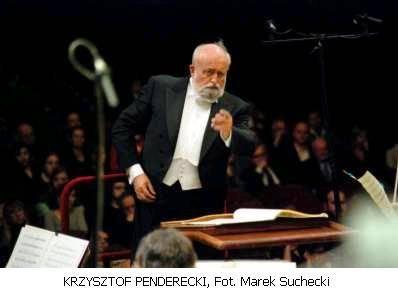 Aktualności_, Krzysztof Penderecki dyryguje Ciechanowie - zdjęcie, fotografia