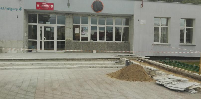 Drogi - remonty - inwestycje, Trwają intensywne prace remontowe przasnyskiej Jedynce Zmianie ulegnie - zdjęcie, fotografia
