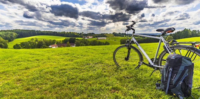 Rower, Uroczyste otwarcie pilotażowego odcinka szlaku rowerowego - zdjęcie, fotografia
