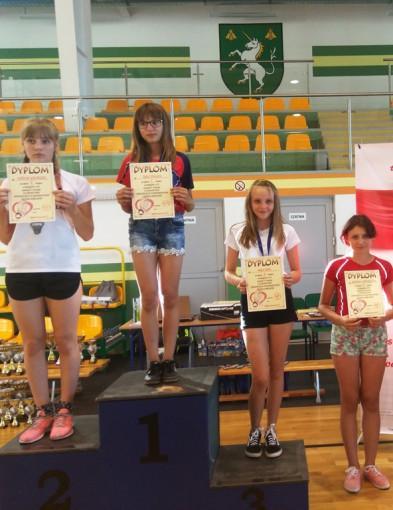 Badminton, turniej MASTERS zamknięcia sezonu Grand Jednorożca badmintonie - zdjęcie, fotografia