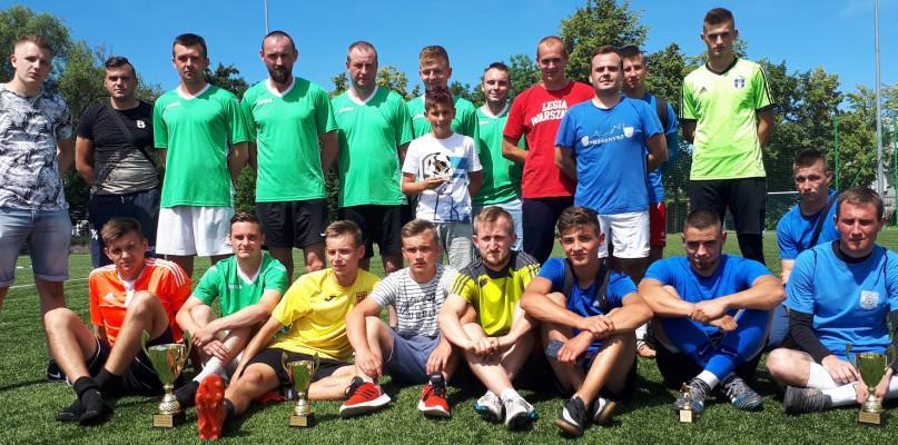 Piłka nożna, Drużyna Czarki najlepsza Turnieju Piłki Nożnej - zdjęcie, fotografia