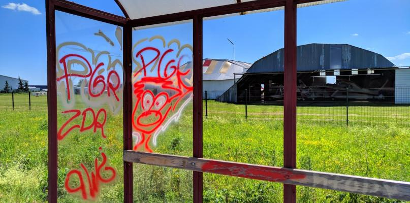 , Alert24 Przasnyska strefa gospodarcza malowana [Zdjęcia] - zdjęcie, fotografia