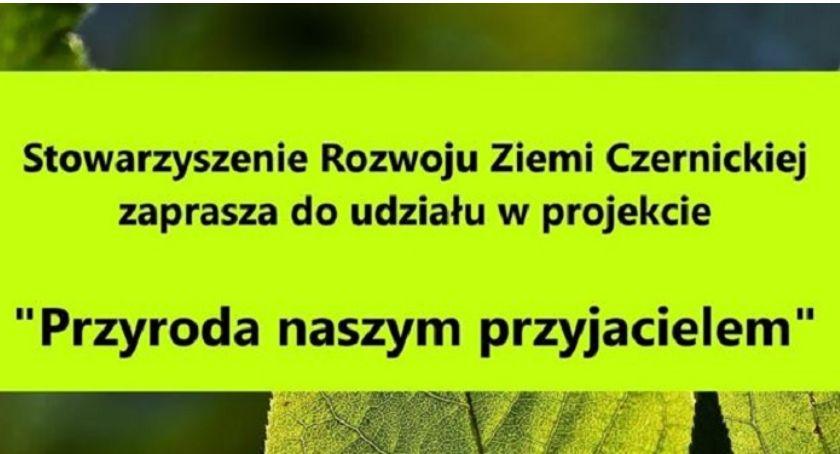 Warsztaty, Przyroda naszym przyjacielem Czernicach Borowych zaproszenie - zdjęcie, fotografia