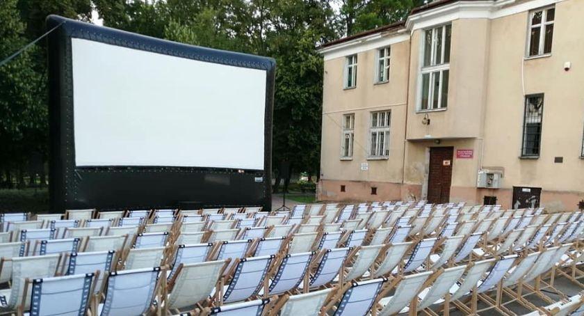 Kino, Green Plenerowym Kinie Letnim - zdjęcie, fotografia