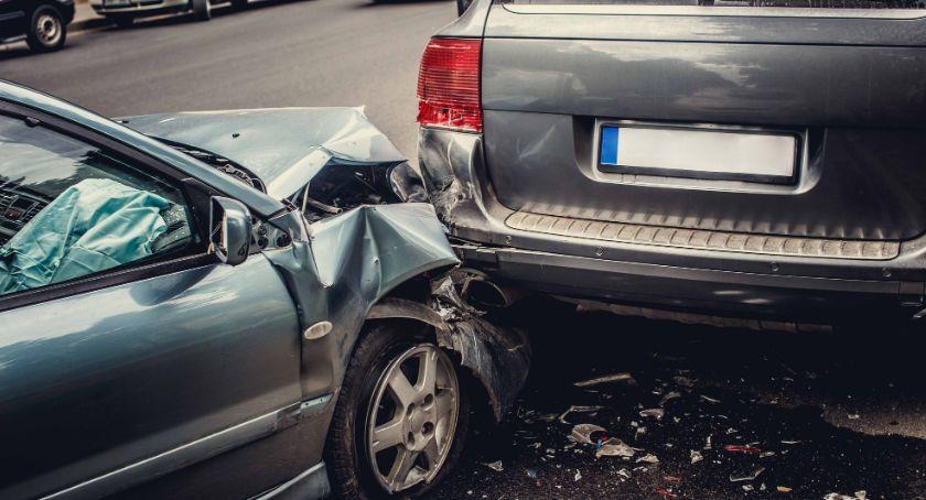Wypadki drogowe, kolizje ciągu dwóch Sprawcą jednej była - zdjęcie, fotografia