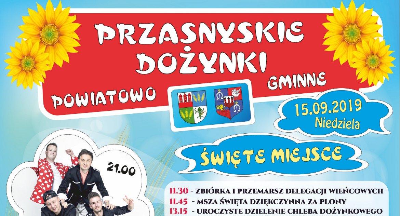 Festyny - Pikniki - Wydarzenia, Dożynki Powiatowo Gminne [Program] - zdjęcie, fotografia