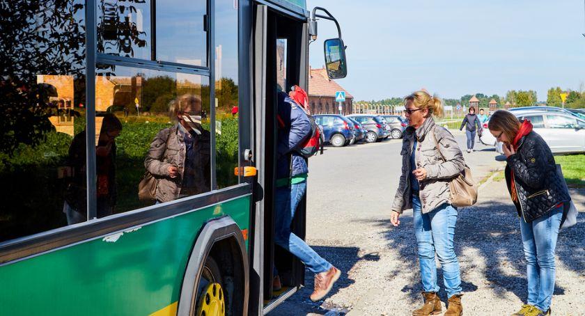 Komunikaty, Rozkład jazdy autobusów terenie powiatu przasnyskiego - zdjęcie, fotografia
