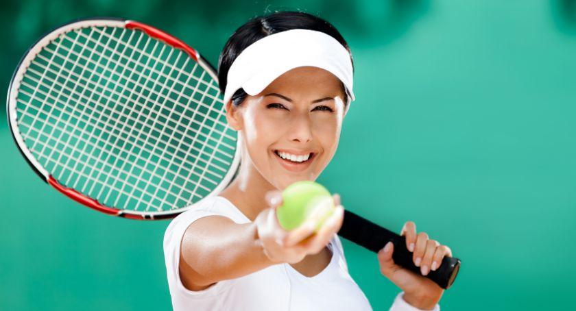 Zawody Sportowe, Mistrzostwa Przasnysza Tenisie Ziemnym zaproszenie - zdjęcie, fotografia