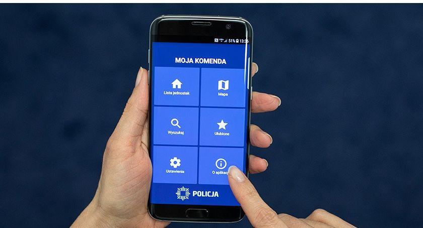 Komunikaty policji , Komenda Twoim telefonie - zdjęcie, fotografia
