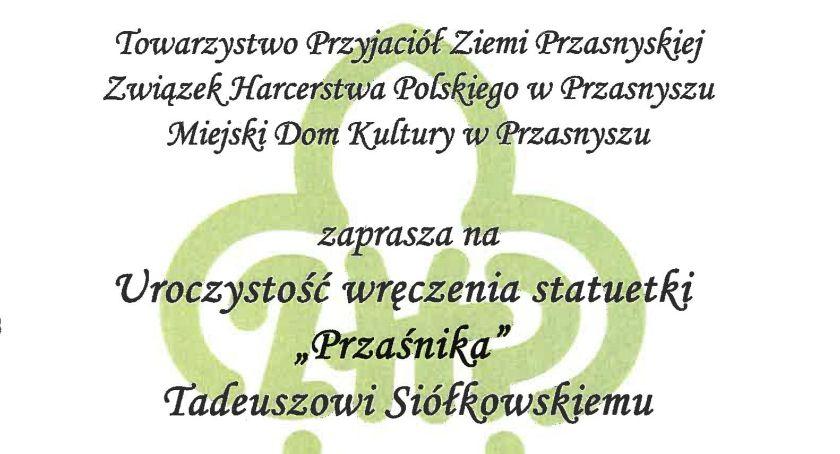Konkursy - Wyróżnienia, Uroczystość wręczenia statuetki Przaśnika - zdjęcie, fotografia