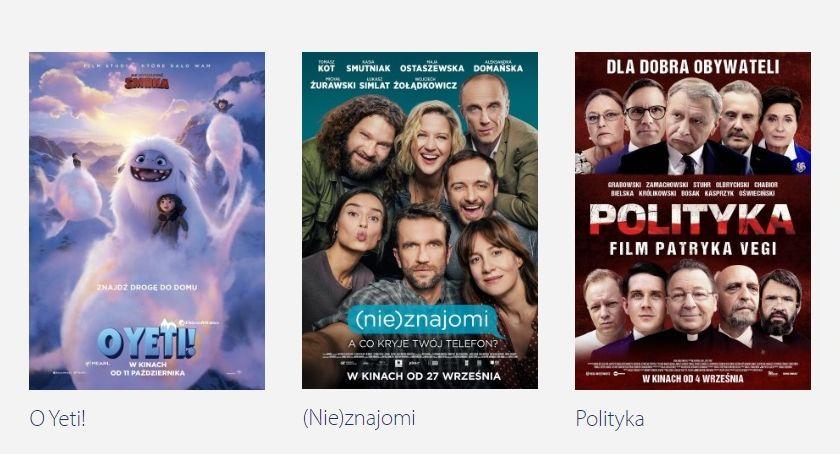 Kino, Zbliżeniowe ponownie Przasnyszu [Repertuar] - zdjęcie, fotografia