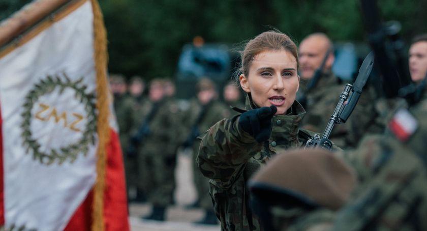 Wojsko, Przasnyszanie złożyli przysięge 5MBOT - zdjęcie, fotografia