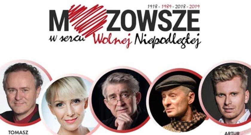 Koncerty, Mazowsze sercu Wolnej Niepodległej koncert Przasnyszu - zdjęcie, fotografia