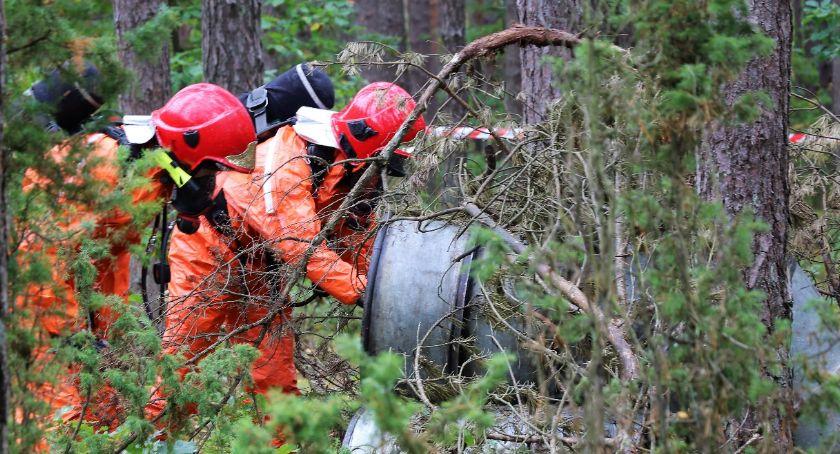 Pożary - Straż , Sytuacja kryzysowa Straż Policja Wojsko Ratownictwo Medyczne Nadleśnictwo reakcji - zdjęcie, fotografia
