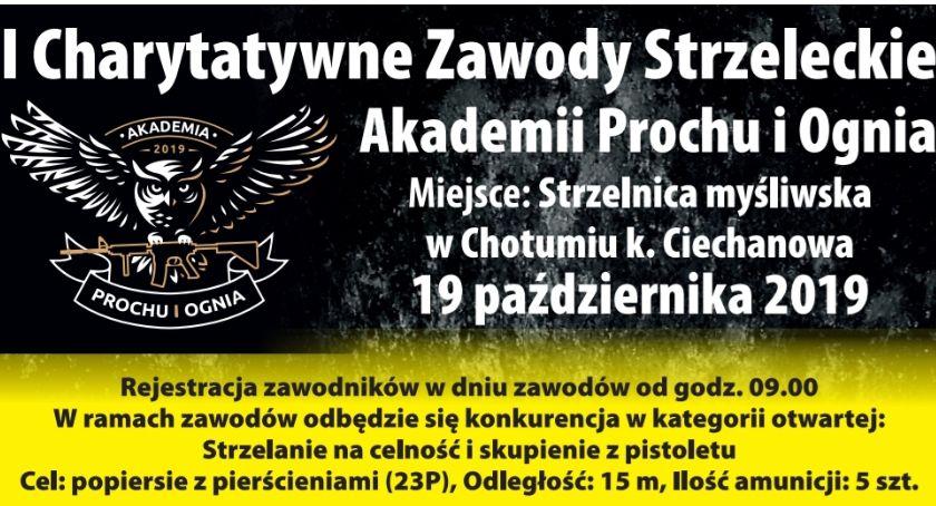 Charytatywne akcje, Charytatywne zawodach strzeleckie żołnierza jednostki wojskowej Ciechanowie - zdjęcie, fotografia
