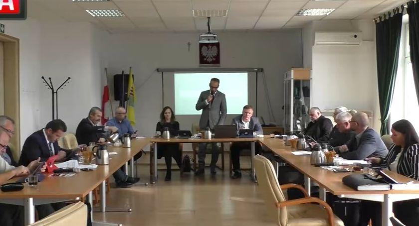 Starosta i Powiat, Słowa uznania Przewodniczącego Powiatu - zdjęcie, fotografia
