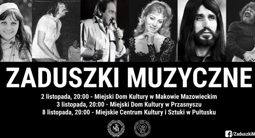 Koncerty, Przasnyskie Zaduszki Muzyczne zaproszenie - zdjęcie, fotografia