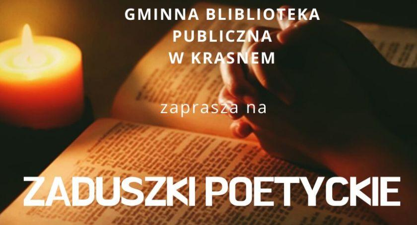 Książki - publikacje , Zaduszki poetyckie Krasnem zaproszenie - zdjęcie, fotografia