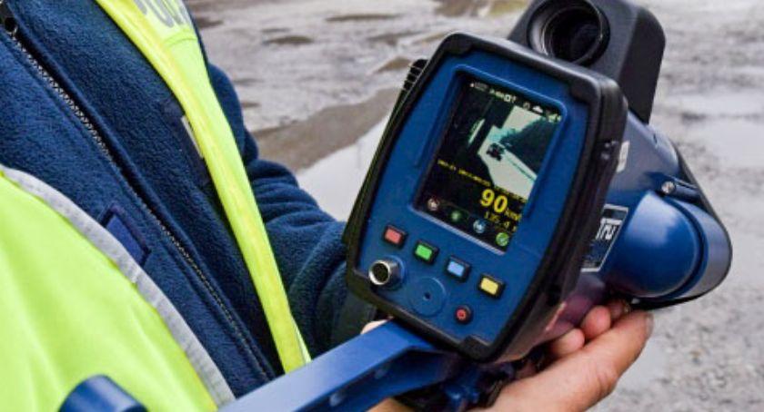 Komunikaty policji , Mierniki prędkości użytkowane przez Policję zgodnie obowiązującymi przepisami - zdjęcie, fotografia