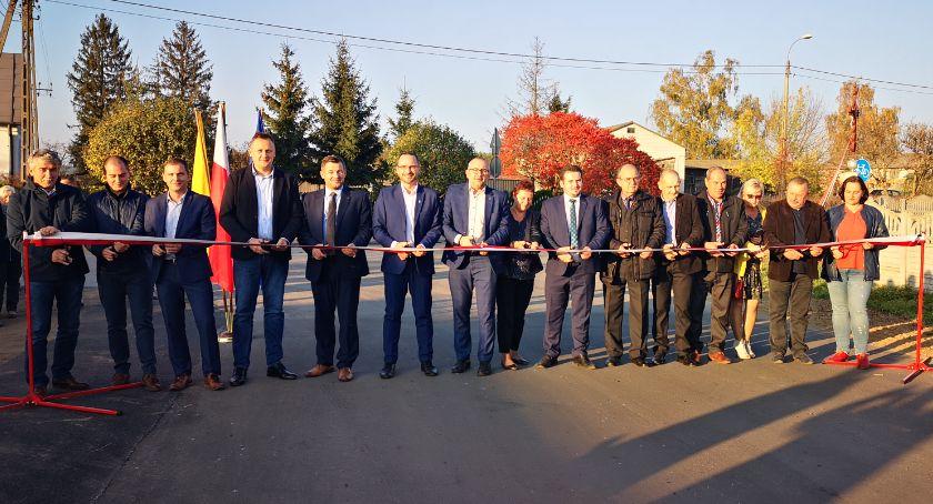 Drogi - remonty - inwestycje, Uroczyste otwarcie drogi Lipie - zdjęcie, fotografia