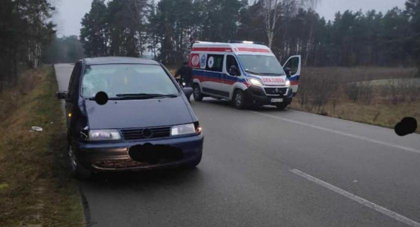 Wypadki drogowe, ostatniej chwili Śmiertelne potrącenie pieszego - zdjęcie, fotografia