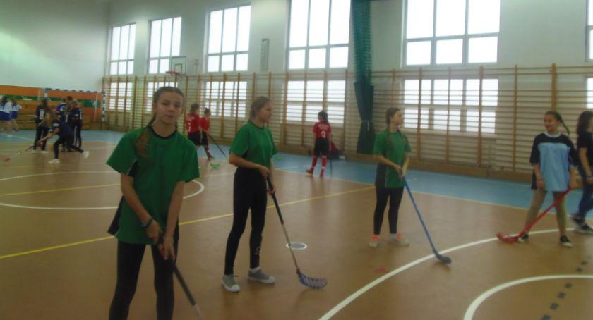 Sport szkolny, Mistrzostwa Powiatu Unihokeju Igrzyska Dzieci Młodzieży 2019/2020 - zdjęcie, fotografia