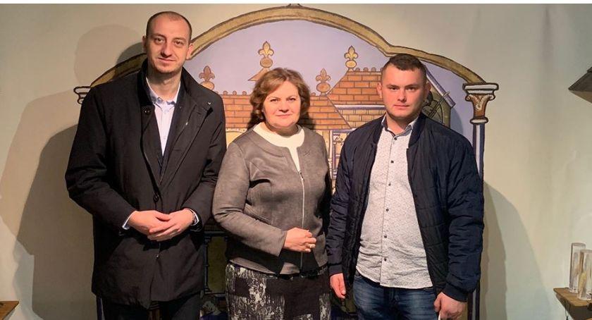 Charytatywne akcje, Grzegorz Krośnicki jednodniowym burmistrzem Przasnysza - zdjęcie, fotografia