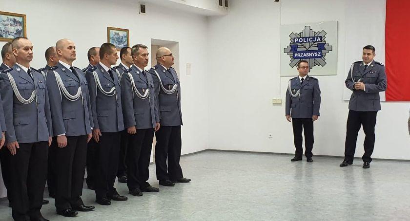 Komunikaty policji , Zastępca Komendanta Powiatowego Policji Przasnyszu oficjalnie mianowany - zdjęcie, fotografia