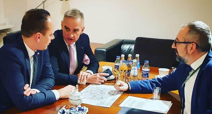 Starosta i Powiat, Powiat zabiega obwodnicę Przasnysza - zdjęcie, fotografia