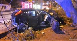 Wypadek dwóch samochodów osobowych w miejscowości Przasnysz