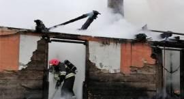 Pożar domu jednorodzinnego w miejscowości Szlasy Żalne
